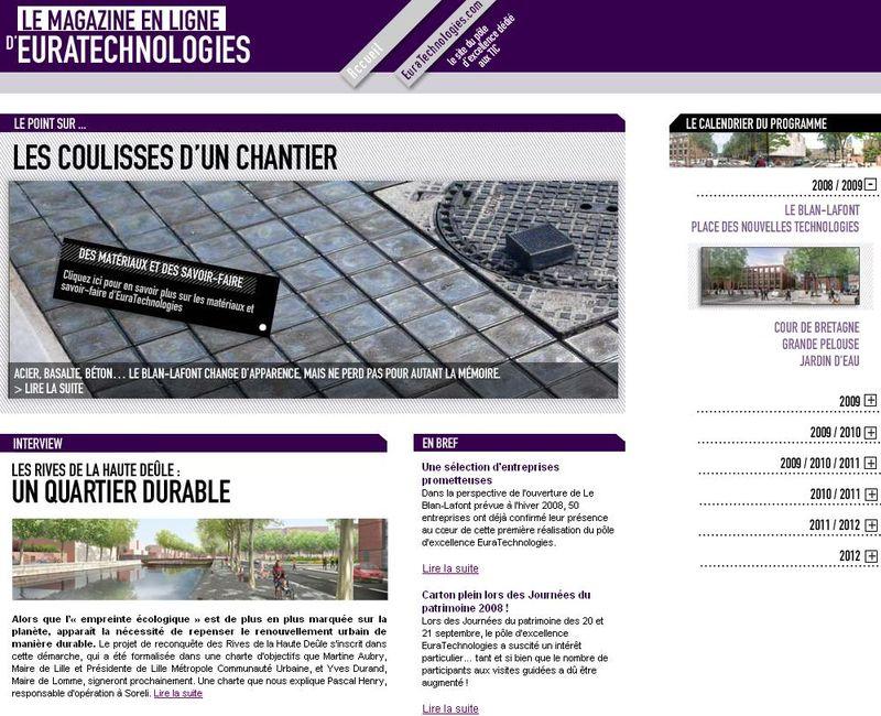 Webzine EuraTechnologies HS1